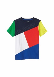Tommy Hilfiger Shirt with Velcro® Brand Closure at Shoulders (Little Kids/Big Kids)