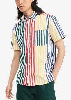 Tommy Hilfiger Short Sleeve Button Down Shirt in Custom Fit