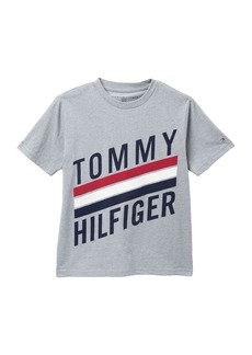 Tommy Hilfiger Short Sleeve Graphic Print Shirt (Big Boys)