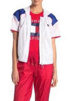 Tommy Hilfiger Short Sleeve Hooded Track Jacket