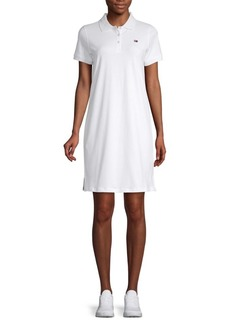 Tommy Hilfiger Short-Sleeve Logo Shirtdress