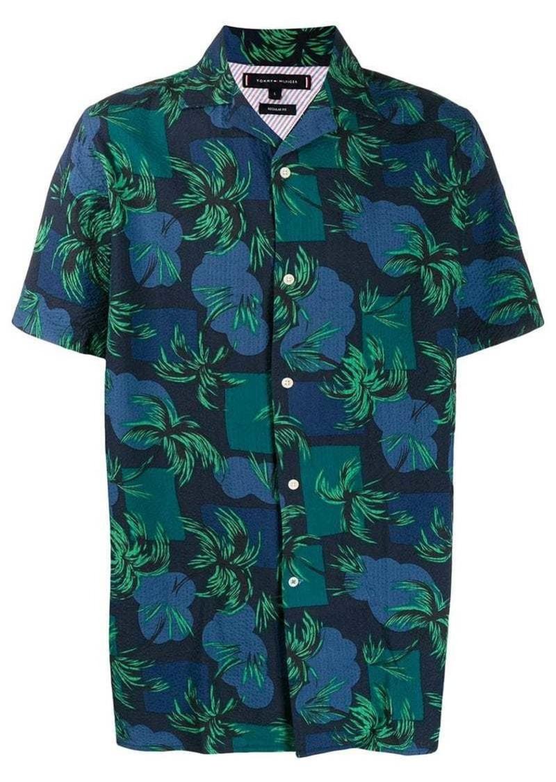 Tommy Hilfiger short sleeved tropical shirt