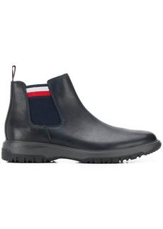 Tommy Hilfiger side stripe boots