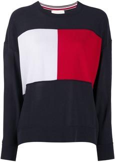 Tommy Hilfiger signature colour block jumper