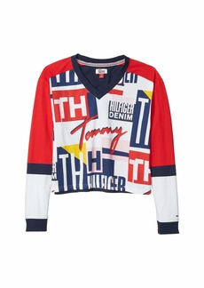 Tommy Hilfiger Signature Long-Sleeve T-Shirt