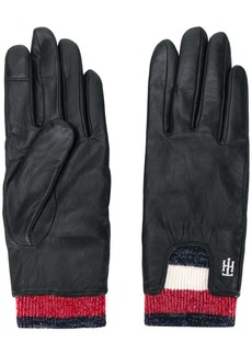 Tommy Hilfiger Signature rib cuff gloves
