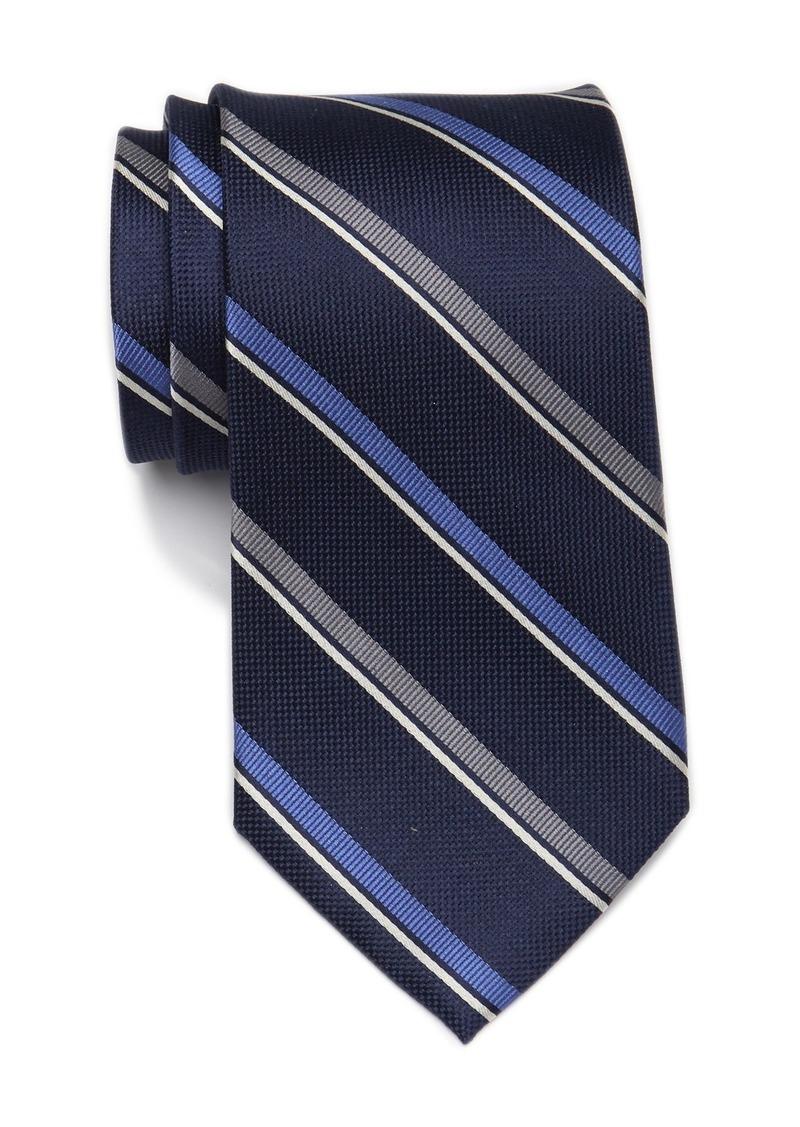 Tommy Hilfiger Silk Classic Stripe Tie - XL