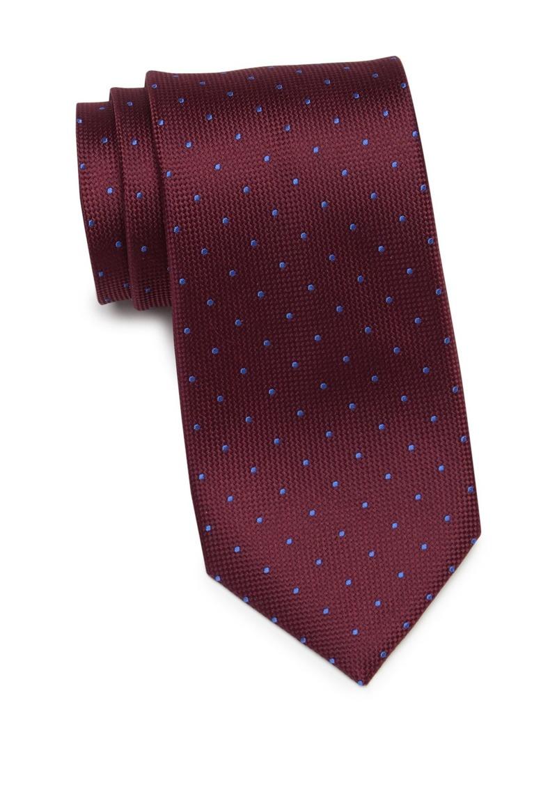 Tommy Hilfiger Silk Metcalf Dot Tie