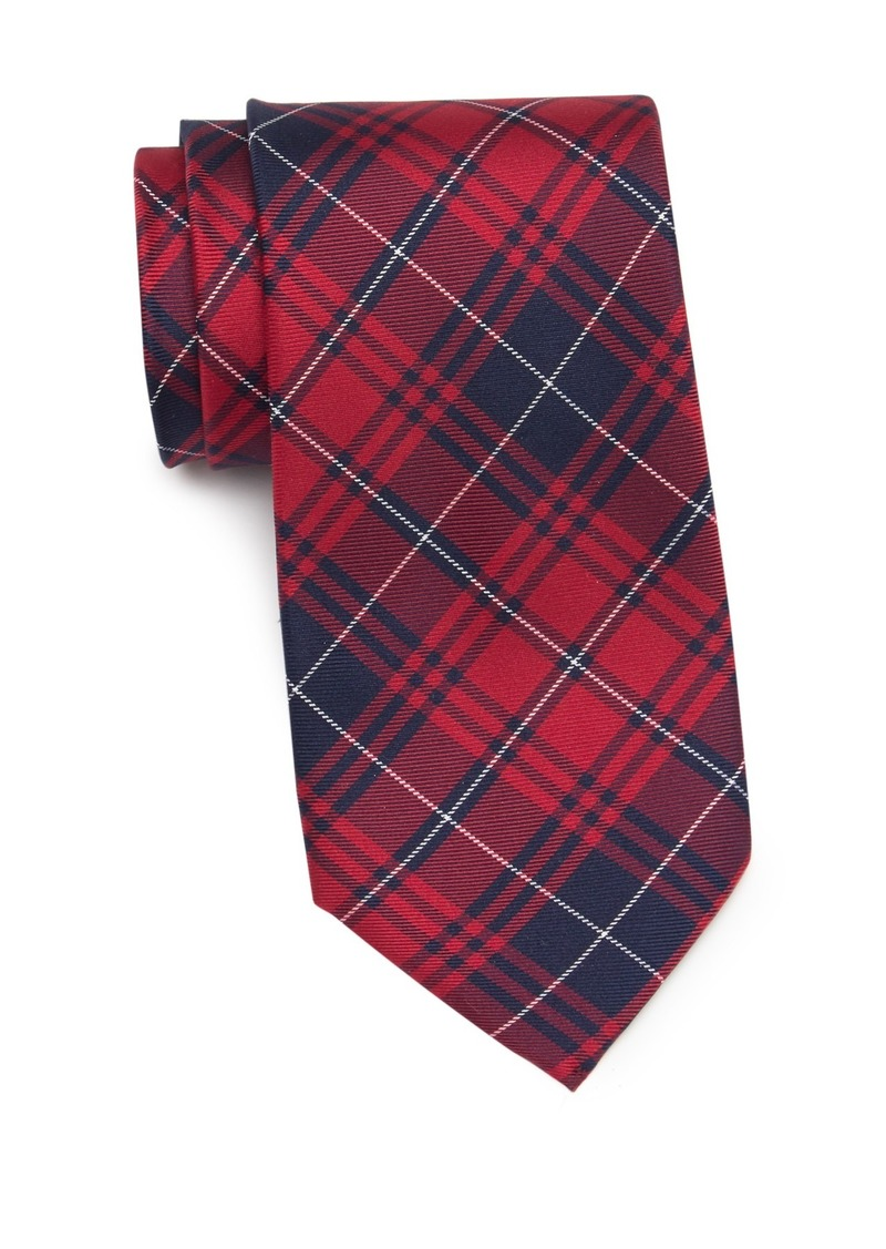 Tommy Hilfiger Silk Sweden Plaid Tie