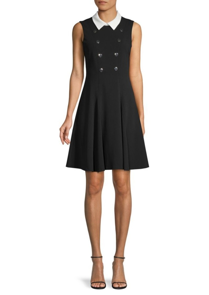 Tommy Hilfiger Sleeveless A-Line Dress