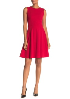 Tommy Hilfiger Sleeveless FIt & Flare Dress