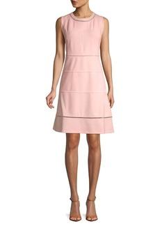 Tommy Hilfiger Sleeveless Laser-Cut Dress