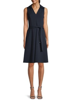 Tommy Hilfiger Sleeveless Scuba Dress