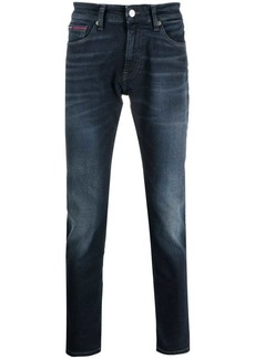 Tommy Hilfiger slim-cut faded jeans