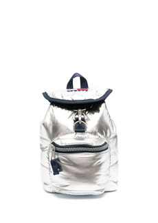 Tommy Hilfiger small metallic backpack