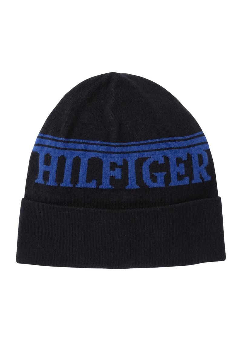 Tommy Hilfiger Sportif Brand Cuff Beanie