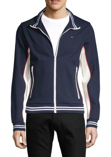 Tommy Hilfiger Stand Collar Colorblock Jacket