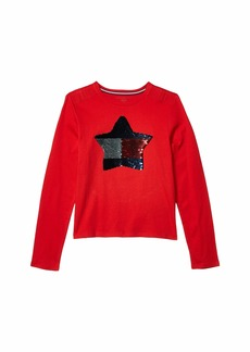 Tommy Hilfiger Star Long Sleeve T-Shirt (Little Kids/Big Kids)