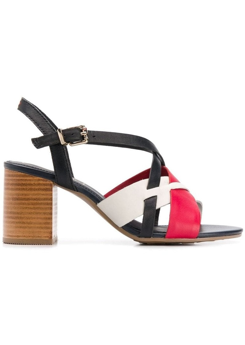 Tommy Hilfiger strappy design sandals