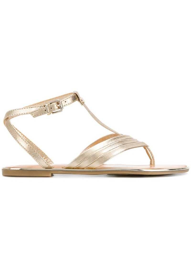 ed0a84a7e982ee Tommy Hilfiger strappy flat sandals