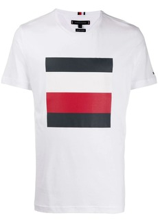 Tommy Hilfiger stripe logo T-shirt