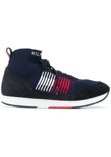 Tommy Hilfiger stripe sock high-top sneakers