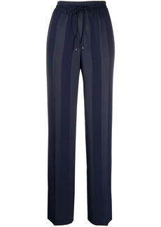 Tommy Hilfiger striped jacquard wide-leg trousers