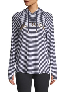 Tommy Hilfiger Striped Long-Sleeve Hoodie