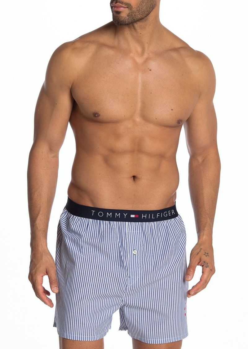 Tommy Hilfiger Striped Woven Boxer