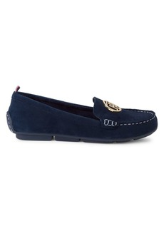 Tommy Hilfiger Suede Driving Loafers