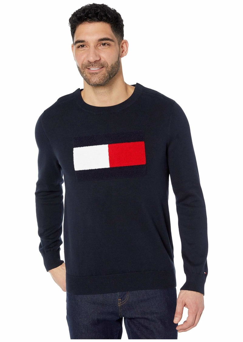 Tommy Hilfiger Sweater with VELCRO® Brand Closure at Shoulders