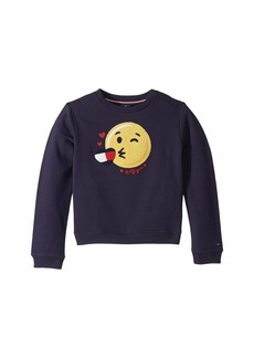 Tommy Hilfiger Sweatshirt with Hidden Velcro® Closures (Little Kids/Big Kids)
