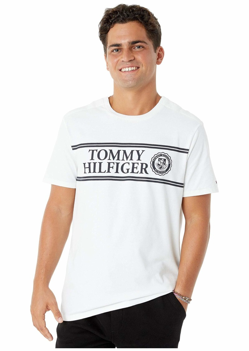 Tommy Hilfiger T Shirt with Magnetic Buttons at Shoulders