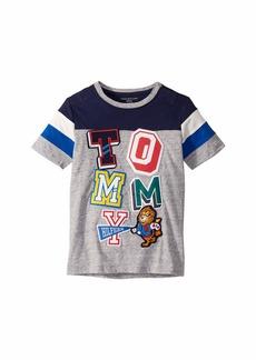 Tommy Hilfiger T Shirt with Velcro Brand Closure at Shoulders (Little Kids/Big Kids)