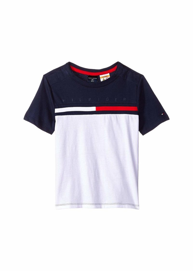 734e2e33c T-Shirt with Velcro® Shoulder Closure (Little Kids Big Kids). Tommy Hilfiger