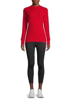 Tommy Hilfiger Textured Cotton-Blend Sweatshirt