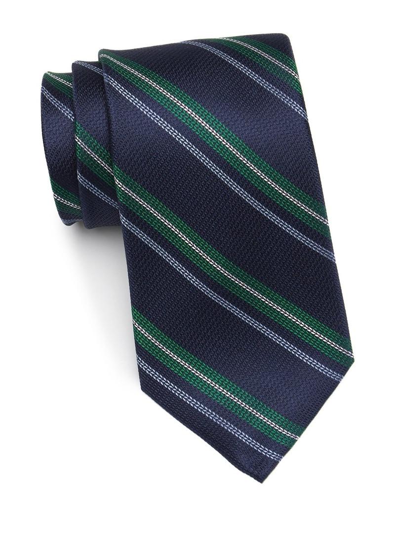 Tommy Hilfiger Textured Silk Stripe