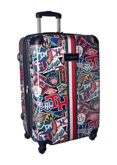 """Tommy Hilfiger TH-660 Vintage Rally 25"""" Upright Suitcase"""