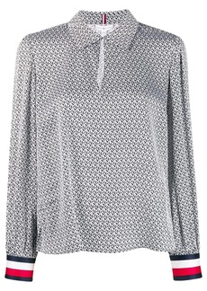 Tommy Hilfiger TH monogram blouse