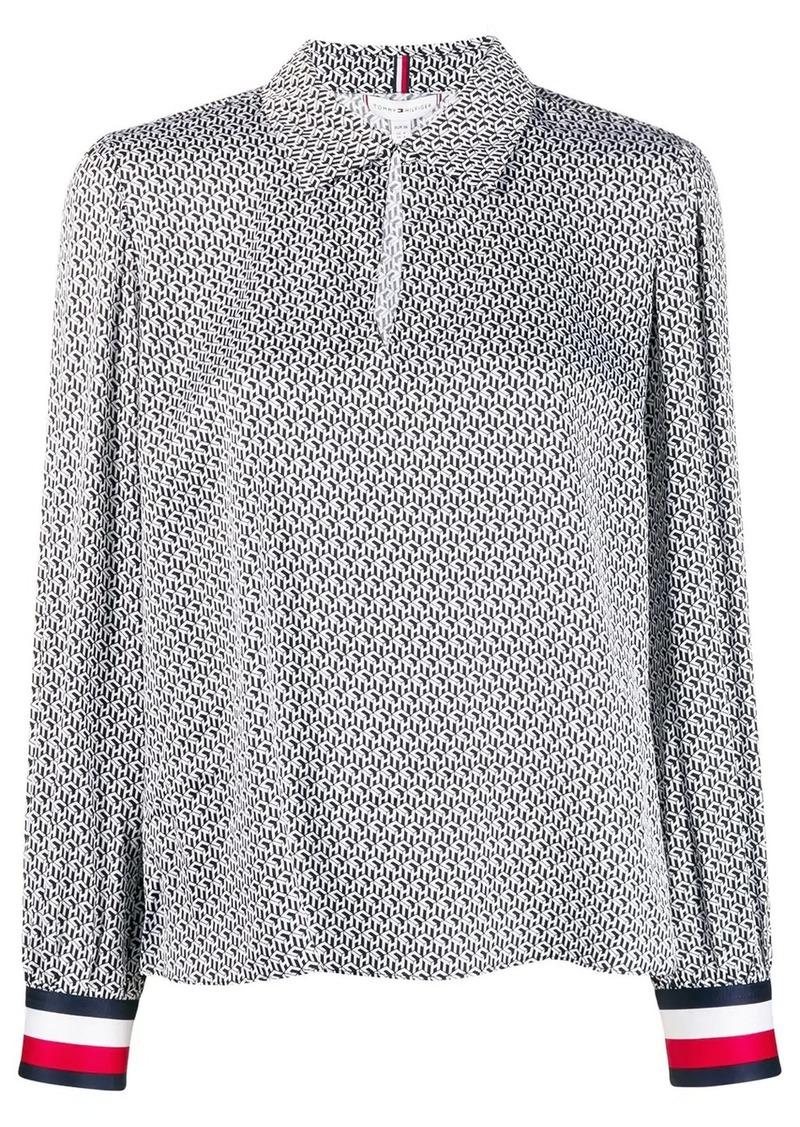 Tommy Hilfiger TH monogram blouse