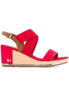 Tommy Hilfiger TH monogram sandals