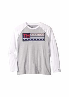 Tommy Hilfiger TH Stars Long Sleeve Tee (Big Kids)