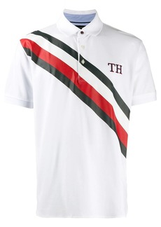 Tommy Hilfiger TH stripe polo shirt
