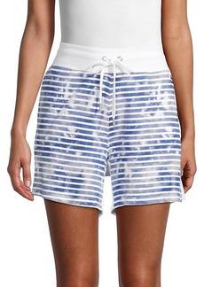 Tommy Hilfiger Tie-Dye Striped Shorts