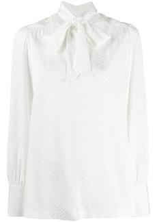 Tommy Hilfiger tie fastening blouse