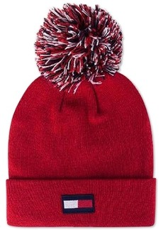 Tommy Hilfiger 3-Color-Pom Ski Hat