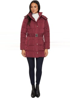 """Tommy Hilfiger 32"""" Belted Puffer"""