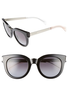 Tommy Hilfiger 49mm Butterfly Sunglasses