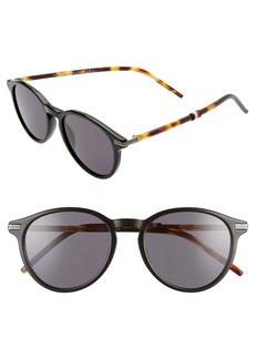 Tommy Hilfiger 50mm Round Sunglasses