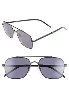 Tommy Hilfiger 55mm Aviator Sunglasses